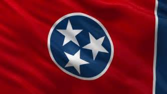 tennessee state colors tennessee state flag waving stock footage 2767565