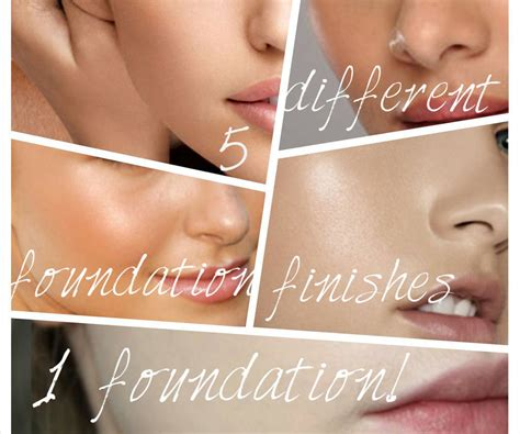 how to apply matte foundation 5 different foundation finishes 1 foundation 3