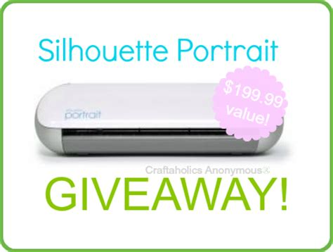 Silhouette Portrait Giveaway - craftaholics anonymous 174 silhouette sketch pens discount giveaway