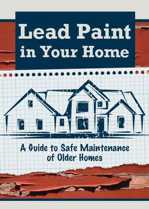 lead paint in your home project energy savers