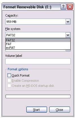 format flashdisk dengan ntfs cara memunculkan opsi format ke ntfs di windows xp