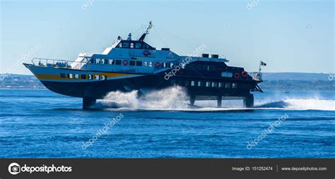 hydrofoil boat price hydrofoil boat runs stock photo 169 ba peuceta 151252474