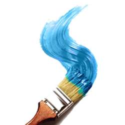 red paint brush transparent png stickpng