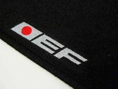 vms 88 91 honda crx si ef custom fit black floor mats