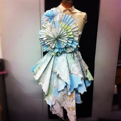 pictures made out of dress made out of maps make cool things