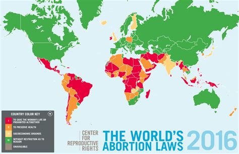 world s the world s abortion laws 2016 vivid maps