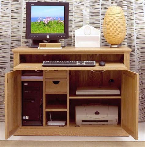 Minimalist Hideaway Desk Designs Computer Desk With Printer Storage