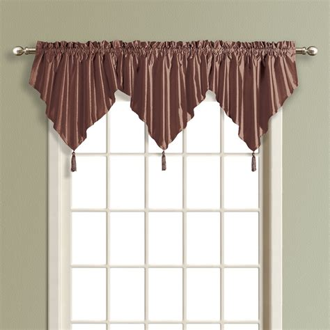 ascot window valances 28 images shimmer satin ascot