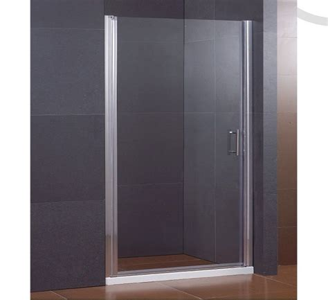 Luxury Pivot Hinge Shower Door Tall Glass Enclosure Frameless Pivot Glass Shower Doors