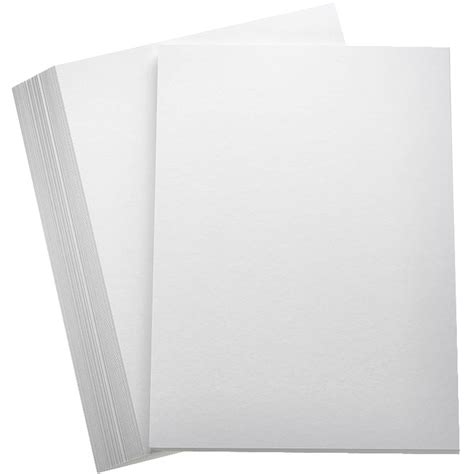White Paper Crafts - white premium hammered card a4 100 pack hobbycraft