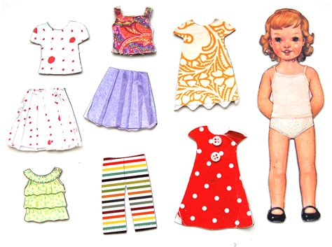 How To Make Paper Doll Dresses - conspiracy of ten things to send your sponsored