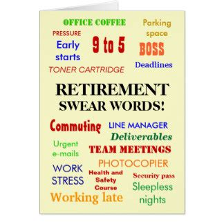 printable retirement jokes funny retirement cards greeting photo cards zazzle