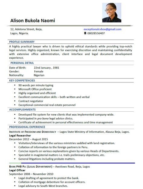 Sle Cv Accounting Officer Choice Image Certificate Design And Template Exceptional Resume Templates