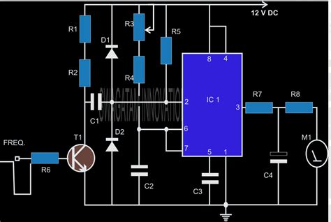 a 100n capacitor can be expressed as make this simple tachometer circuit