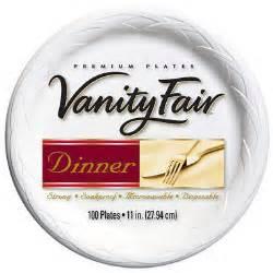 Vanity Fair Outlet Ct Vanity Fair 174 11inch Plates 100ct Sam S Club