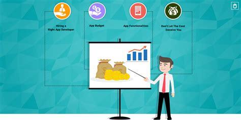 mobile app development costs factors that influence mobile app development cost