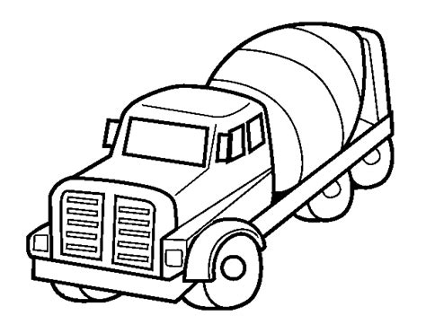 cement truck coloring pages coloring pages