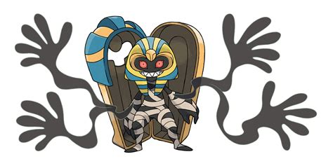 fan made mega cofagrigus fan made by pokeluka on deviantart