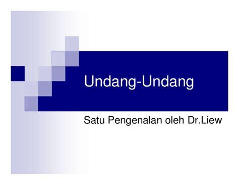 Undang Undang Perseroan Terbatas 1 undang undang