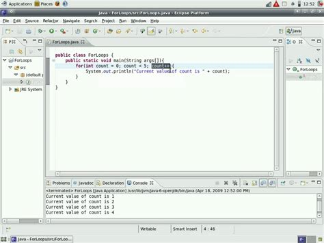 tutorial video java java video tutorial 17 how to use for loops youtube