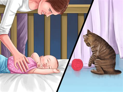 How To Keep Cats Out Of Baby Crib 3 Ways To Keep A Cat Out Of A Crib Wikihow