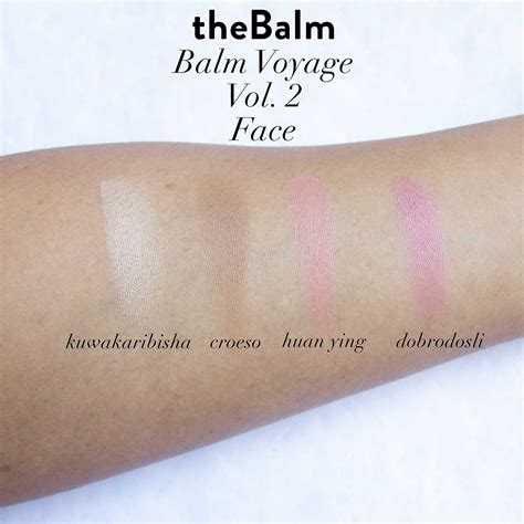 The Balm Balm thebalm balm voyage 2 review swatches makeup mid