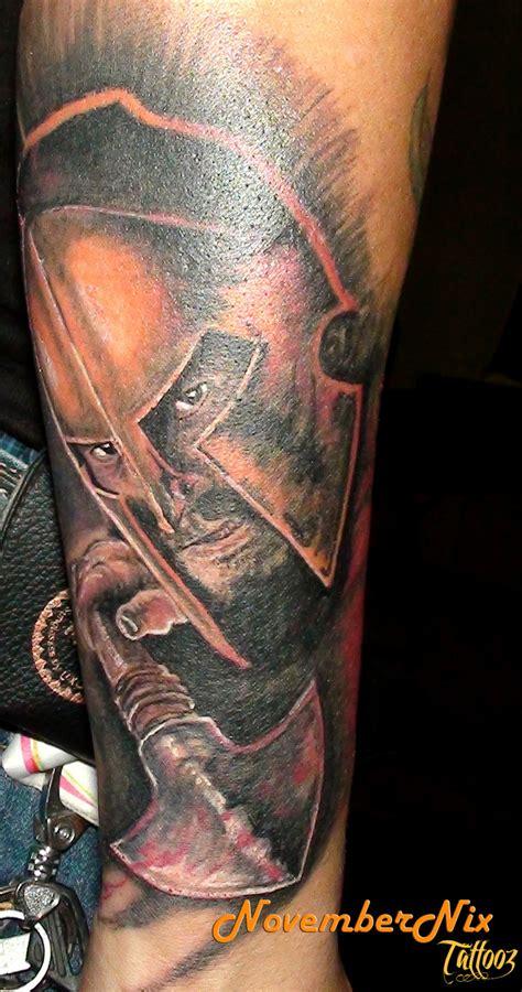 spartan tattoos spartan