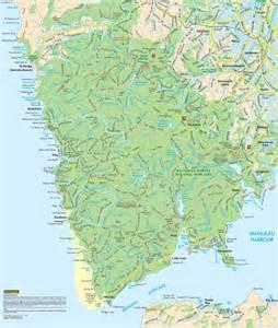 of maps waitakeres ranges maps
