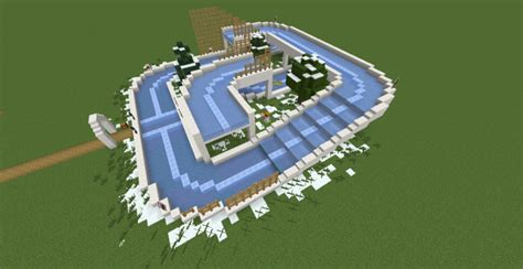 minecraft boat track boat racetrack minecraft project