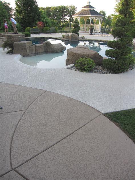 concrete decor pool deck surrounds sundek concrete coatings and