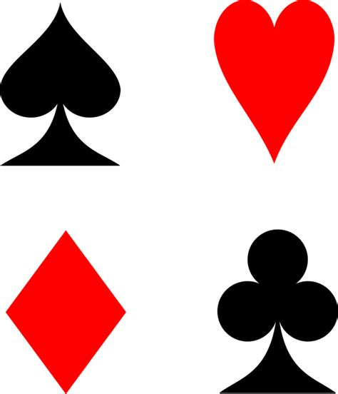 vektorov 225 grafika zdarma hrac 237 karty karty barvy piky
