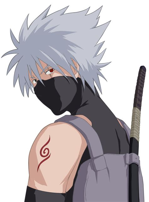 kakashi anbu render by xuzumaki on deviantart