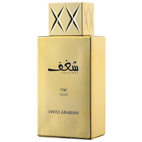 Parfum Swiss Arabian swiss arabian shaghaf oud eau de parfum for 75 ml notino co uk