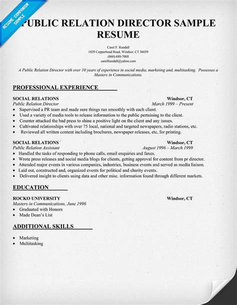 relations resume 847 best images about resume sles across all industries