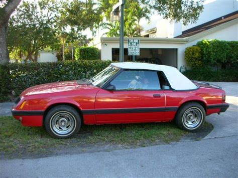 1986 ford mustang lx convertible 2 door 3 8l on 2040cars