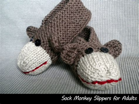 sock monkey house shoes sock monkey slippers for men and women on luulla