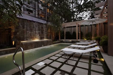 Creating Privacy In Backyard Lap Pools For Narrow Yards Lap Pools For Narrow Yards