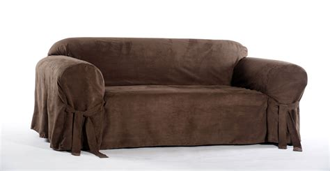 suede sofa slipcovers classic micro suede sofa slipcover shop your way online