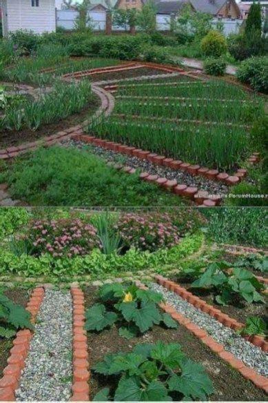 backyard organic gardening  summer garden design