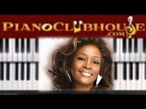 tutorial piano whitney houston how to play quot how will i know quot by whitney houston piano