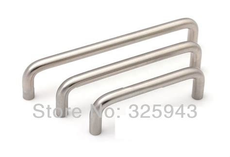 stainless steel kitchen cabinet handles and knobs 2pcs 64mm modern stainless steel furniture hardware
