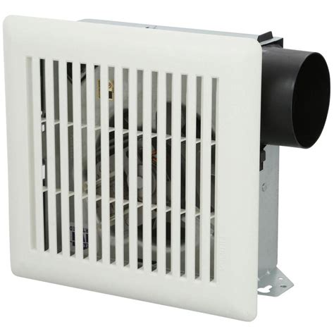 wall mount exhaust fan bathroom nutone 50 cfm wall ceiling mount exhaust bath fan 696n the home depot