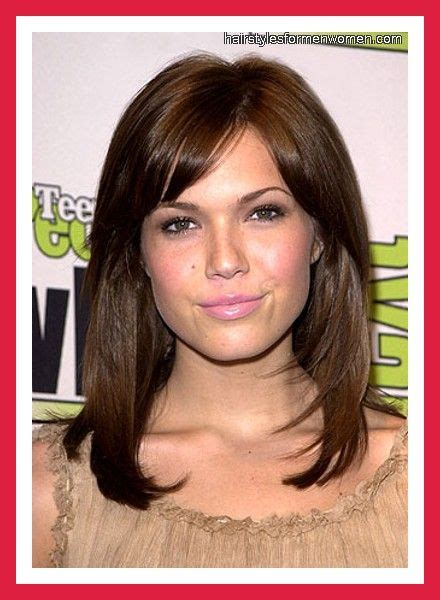 everyday hairstyles with side bangs 39 best hairstyles for short forehead and long face images