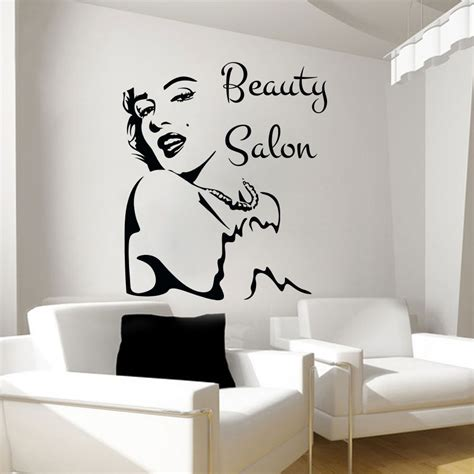 free wall stickers 2016 new salon wall stickers decal vinyl decals bedroom decor os1470 free