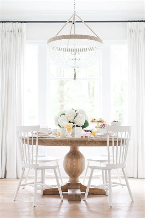 im loving  natural wood dinning tables