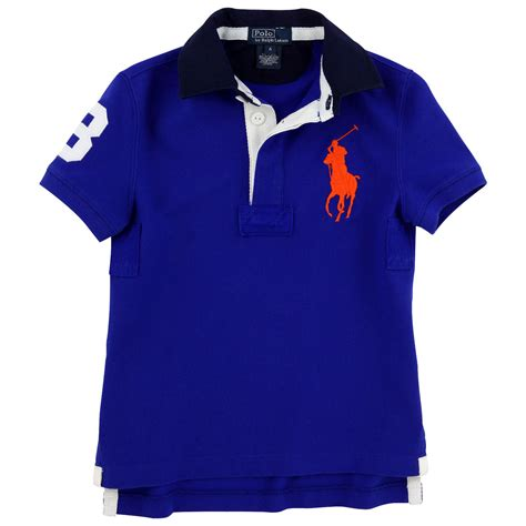 royal blue big pony polo shirt ralph for boys