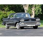 1958 Chevrolet Bel Air Sport Coupe Retro Wallpaper