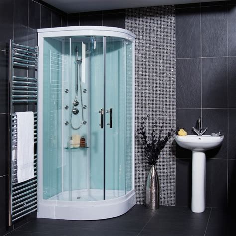 Bathroom Shower Cabins Aqualine Hydromassage Shower Cabin With 6 Jets