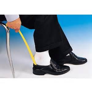 High Heel Storage Chair Mecanaids Long Handle Plastic Shoe Horn Careway Wellness