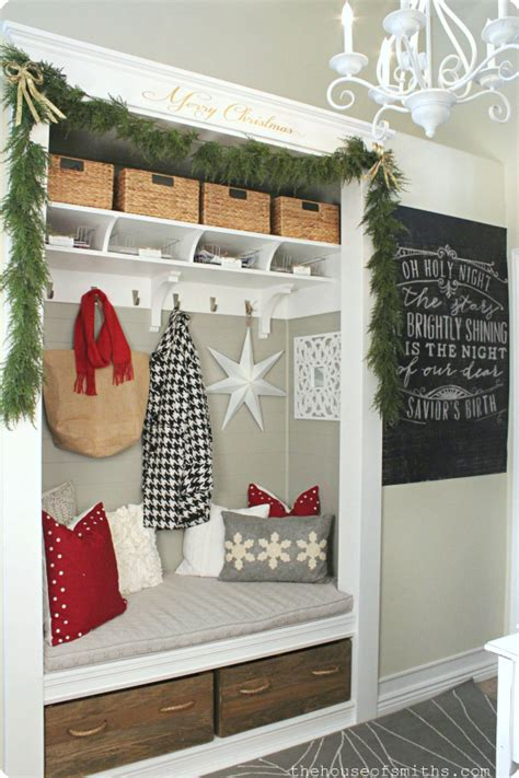 christmas decorating blogs the house of smiths home diy christmas entryway thehouseofsmiths com
